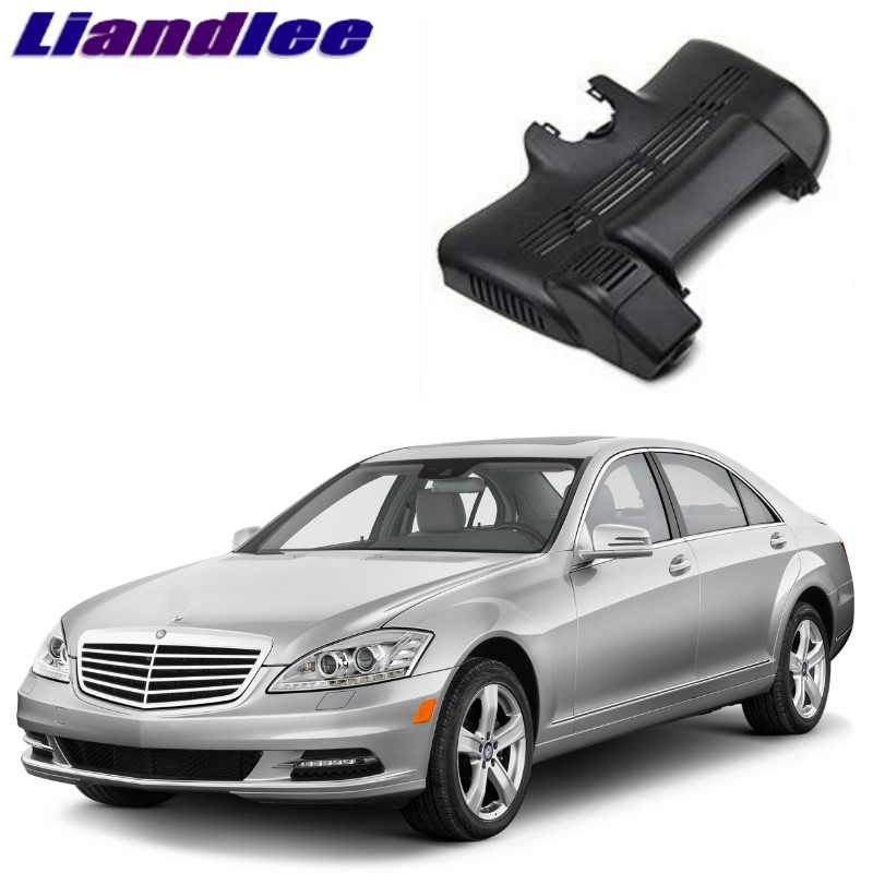 Liandlee For Mercedes Benz S MB W220 1998~2005 Car Black Box WiFi DVR Dash Camera Driving Video Recorder ...