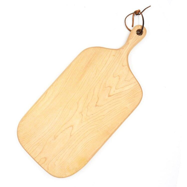 Planche à découper légumes planches à découper en bois massif, découpe de légumes, assiettes, poignées, planches de bois, panneaux de planches de bois. 3
