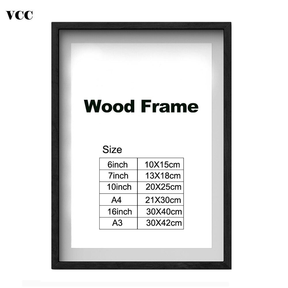 Moldura Quadro de Cartaz de Metal Clássico de Alumínio Molduras Para Parede Pendurado A3 A4 30x30 Quadro Certificado de VCC