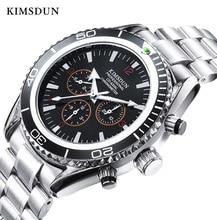 KIMSDUN Automatic Mechanical Watch Men Fashion Luxury Brand Business Waterproof Stainless High Quality New 2019