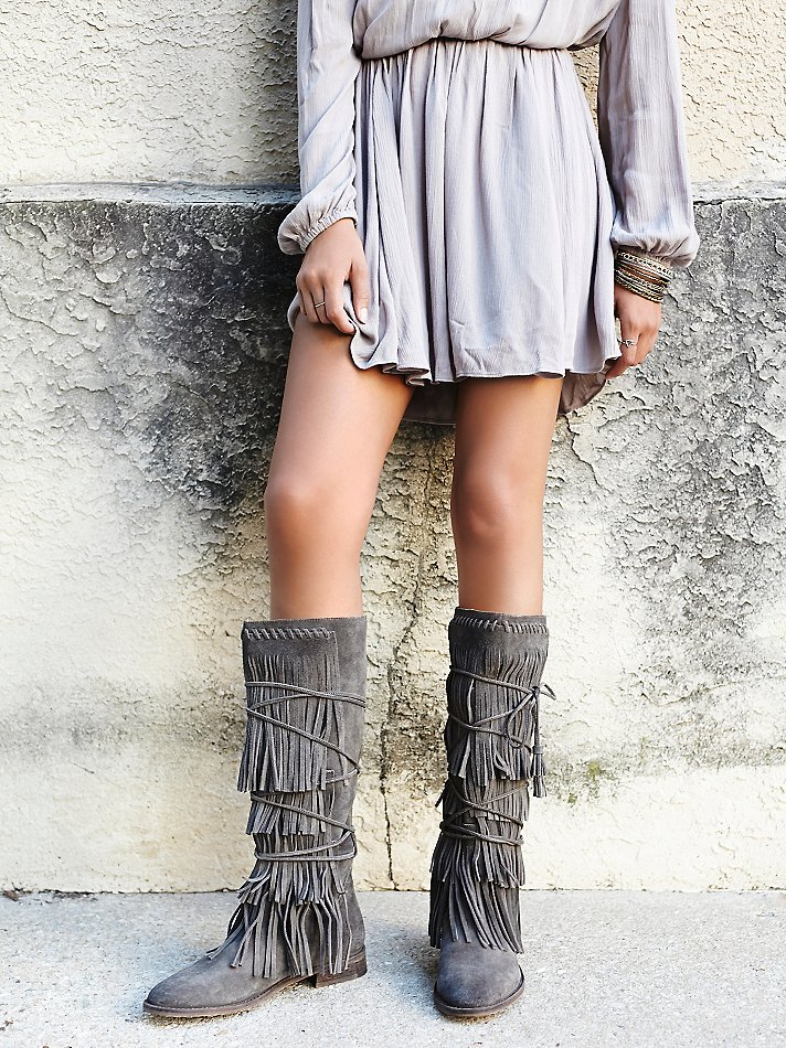 Compare Prices on Suede Fringe Boots- Online Shopping/Buy Low ...