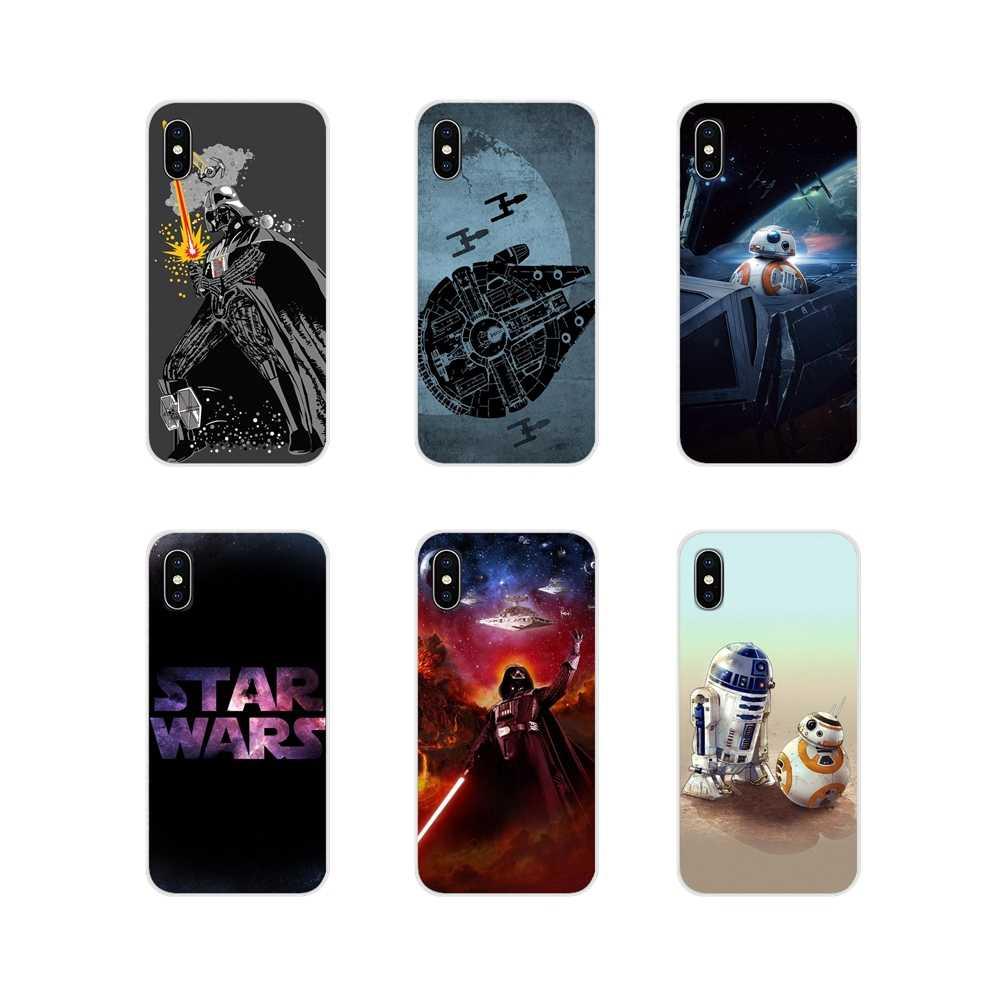 Аксессуары чехлы для телефонов Xiaomi Mi6 A1 5X 6X Redmi Note 5 5A 4X 4A 4 3 Plus Pro pocophone F1 Star Wars