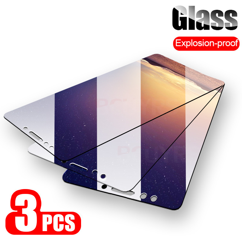 3PCS/lot For Glass Xiaomi Mi A2 Lite A2 Screen Protector Tempered Glass For Xiaomi Mi A2 Lite A2 Protective Glass Phone Film