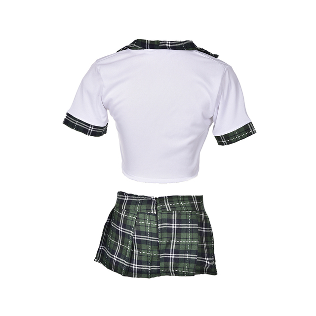 1 Set Hot School Girl Sexy Costumes Student Uniform Maid Fancy Cosplay Lingerie Women Student Uniform Dress Outfit Costumes