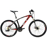 BEIOU Bicycles Hardtail Mountain Bike 26 Inch Shi Mano 3x9 Speed S R A M Brake