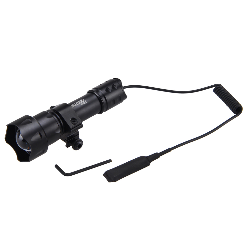 все цены на Zoom OSRAM LED 7W Infrared Flashlight Night Vision IR Light LAMP Pressure Switch онлайн