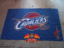 Cleveland Cavaliers Cleveland City Skyline Flag 3ft x 5ft Polyester NBA Banner Flying Size 90*150CM Custom flag