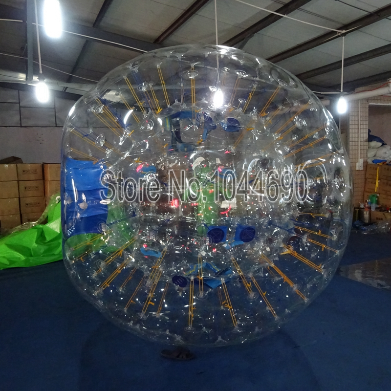 Free logohow much are zorb balls,2.5m dia glass ball for adults...