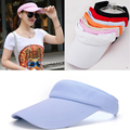 7 Colors Outdoor Casual Sunhat Beach Hat Mesh Empty Baseball Cap Summer Sport Visors Golf Tennis Hat For Men Women