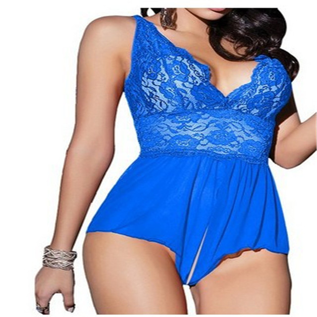 Transparent Lace Appeal Pajamas 2