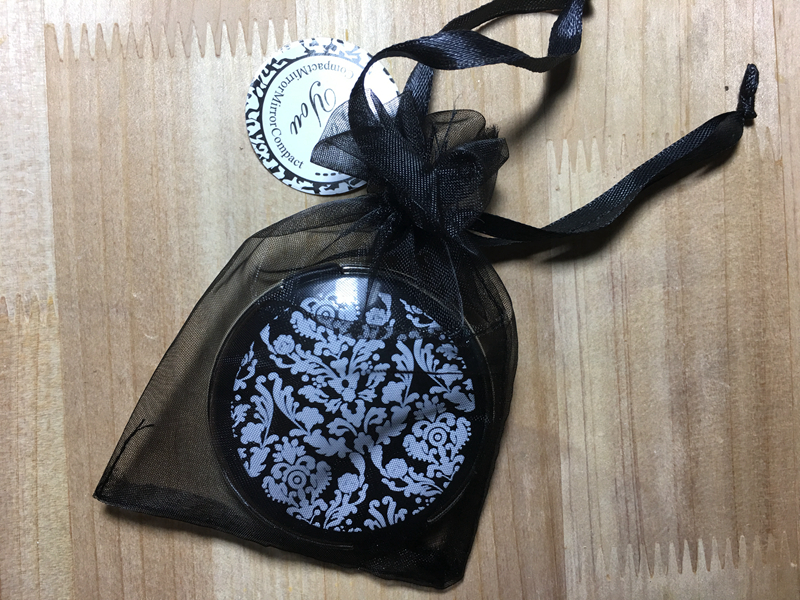 Fast Delivery Factory Direct Sale Wedding Favor Damask Elegant Black