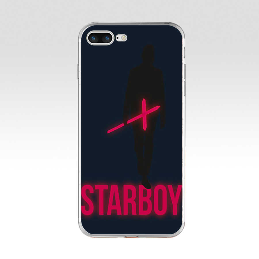 293WE يكند Starboy لينة TPU حقيبة غطاء سيليكون ل أبل فون 6 6s 7 8 زائد حالة
