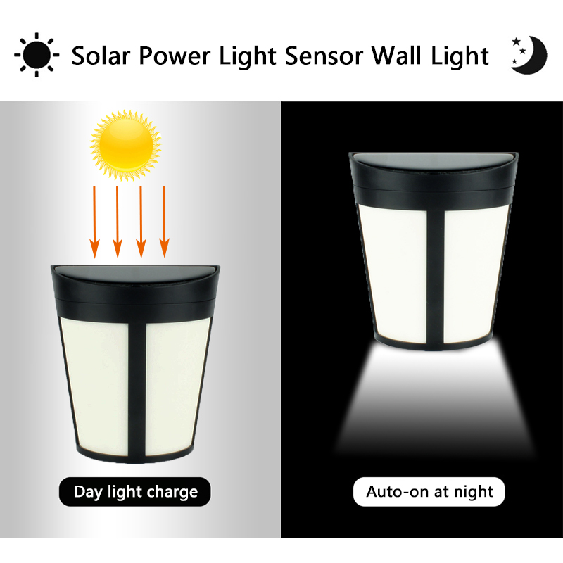 LED Solar Light Luz Solar Lamp Led Sensor Wall Light Auto ON/OFF Outdoor Waterproof Ip65 Garden Light Street Yard Security Lamp