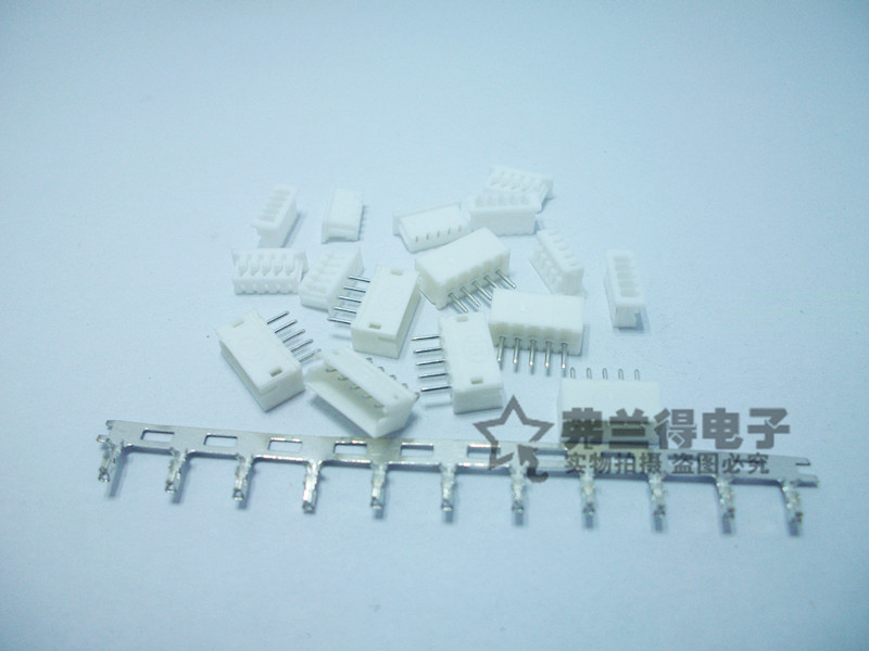 100 Sets JST ZH 1.5mm 5-Pin Male, Female Connector socket with crimps