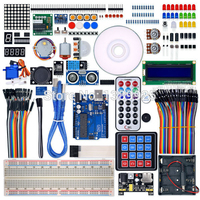 Ultimate Starter Learning Kit For Arduino UNO R3 LCD1602 Servo Motor Process