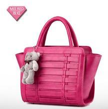 Knitting vintage OL women handbags European style fashion single shoulder bags lady's casual totes bag concise handbags