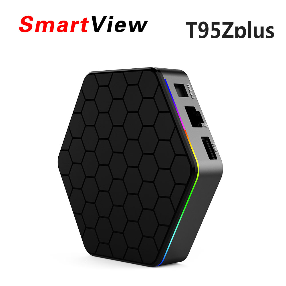 5pcs T95Z Plus 2GB 16GB 3GB 32GB Amlogic S912 Octa Core Android 7.1 Smart TV BOX 2.4G/5GHz Dual WiFi BT4.0 4K H.265 Media player t95z max smart tv box android 7 1 set top box 2gb 16gb 3gb 32gb rom octa core s912 2 4g 5g dual wifi hd 4k bt4 0 media player