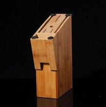 Heißer Verkauf Klassische Natürliche Bambus Messerhalter Küche Werkzeuge Lagerung Racks Kostenloser Versand