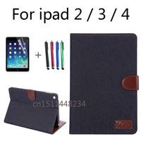 High Quality PU Leather Tablet Smart Case Cover Ultra Slim Designer For APPle IPad 2 Ipad