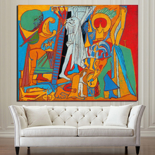 Pablo Picasso Crucifixion Wall Art Canvas Painting Poster Prints Modern Painting Wall Picture For Living Room Home Decor Artwork pablo picasso woman canvas painting prints living room home decor artwork modern wall art oil painting poster accessories art hd