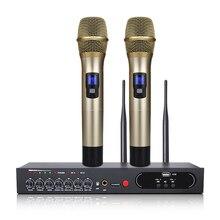 MU 6S Karaoke Microfono Bluetooth Microfono Per Lezioni di Computer Studio Microfono Microfono Senza Fili Microfono Palmare