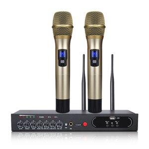 Image 1 - MU 6S Karaoke Microfono Bluetooth Microfono Per Lezioni di Computer Studio Microfono Microfono Senza Fili Microfono Palmare