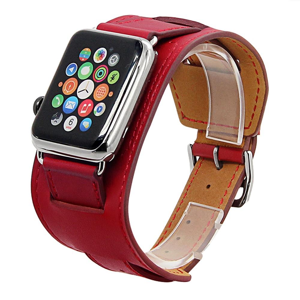 Apple Watch Cuff bracelet Red 7