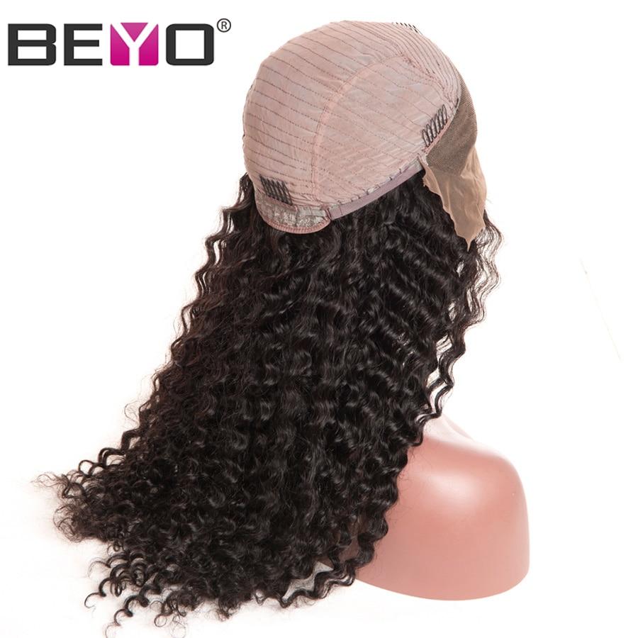Beyo Lace Front Echthaar Perücken Für Schwarze Frauen Malaysian - Menschenhaar (für Schwarz) - Foto 3