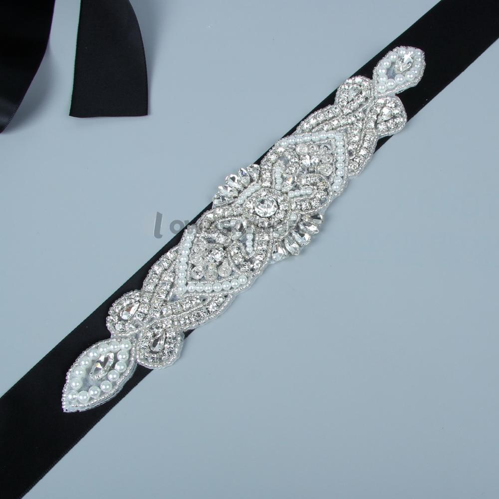 Wedding Gown Belts And Sashes: Crystal Bridal Belts For Wedding Dresses 2018 Diamante