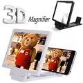 Teléfono móvil de la pantalla de pantalla 3D pantalla de vídeo amplificador plegable ampliada ampliador del soporte del sostenedor para iPhone 6 Plus Samsung