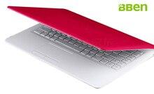Bben windows 10 laptop netbook 4gb emmc 32gb intel N3150 OS CPU 1000G HDD ultrathin netbook 14.1inch Pink White Black for travel