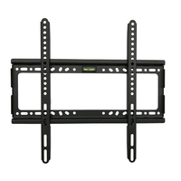 Wall Mount TV Fixed Bracket Hanging For 26 63 Inch LED LCD ABS Stable Up to VESA 400x400mm WWO66