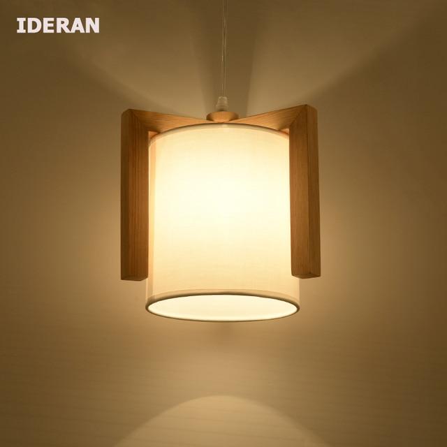 Hanglampen slaapkamer lamp Maaltijden droplight lamp hout Pokken ...