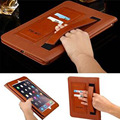 Luxury Ultra Slim Business Style Automatic Wake-up / Sleep Smart Cover Leather Case For iPad Air 2 iPad 6