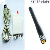 KYL-U20U USB 433 мГц трансивер 10 МВт РФ модуль USB 868 мГц 913 мГц модуль приемопередатчика 600 м-1 км короткие диапазон