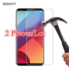 2PCS Glass For LG V30 Screen Protector Tempered Glass For LG V30 Glass For LG V30 Phone Screen Protector Front Film BSNOVT цена