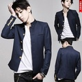 FreeShipping Новая мода колледжей университета Японский школьная форма мужской мужской тонкий пиджак китайский туника костюм куртка топ-Корейский