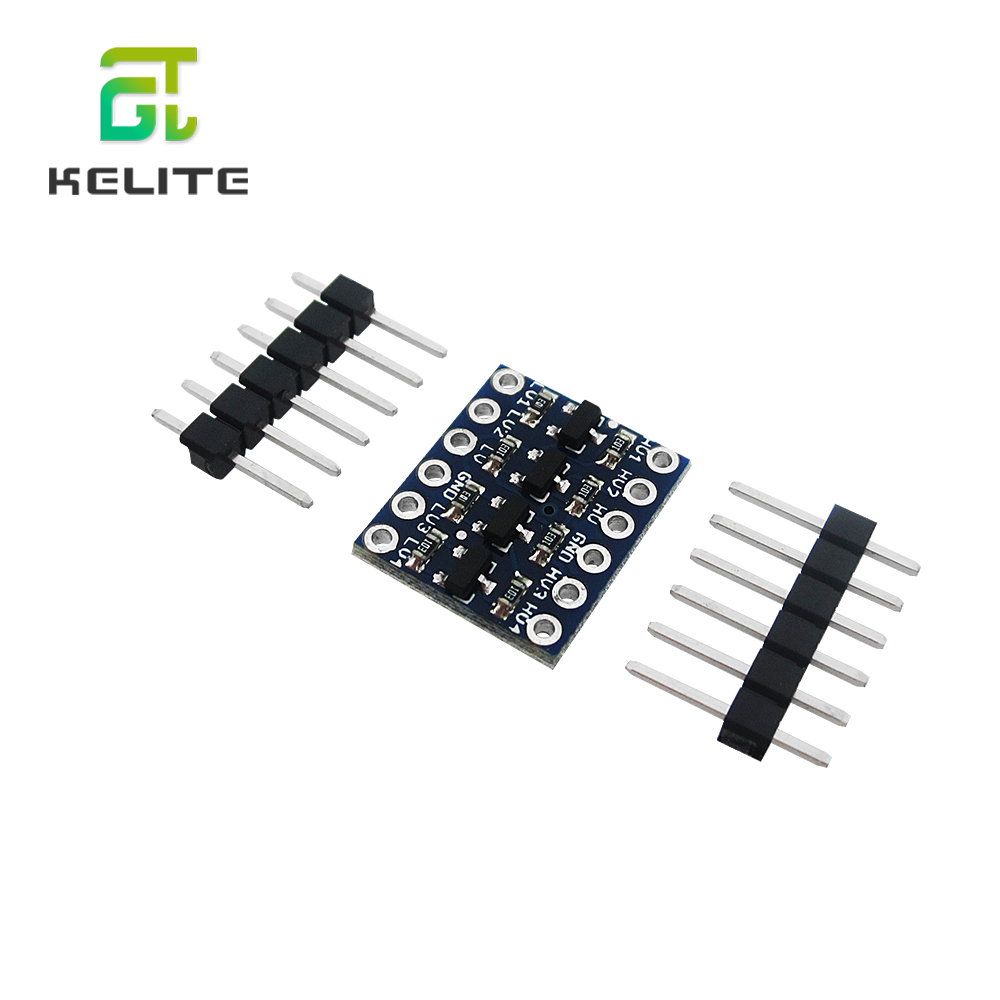 HAILANGNIAO 4 Channel IIC I2C Logic Level Converter Bi-Directional Module 5V To 3.3V