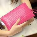 La sra. bolsa de mano bolso del teléfono móvil de Corea del bolso de cocodrilo de la manera bolso