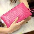 Ms. hand bag Korean mobile phone bag purse fashion crocodile handbag