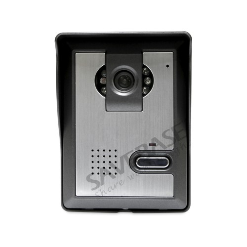 HOMSECUR 7 Wired Video Door Entry Security Intercom with Intra-monitor Audio Intercom