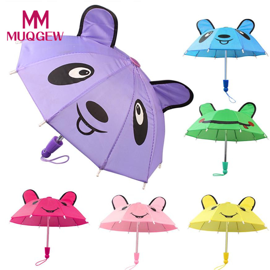 Drop shipping Umbrella Accessories For 18 inch American Girl /Baby Born Dolls accessories Handmade Outdoor Children Best Gift