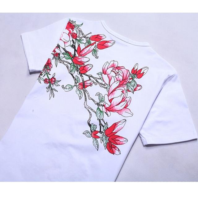 Plus Size 6XL Men's T-Shirt 2019 New Fashion Chinese Style Print T Shirt Men Summer Short-Sleeve Casual Slim Fit 3D Mens T Shirt 8
