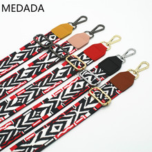 New wide Shoulder Bag Nylon Colorful Bags Strap Belt Fashion Accessories Man Women Adjustable Shoulder Hanger Handbag