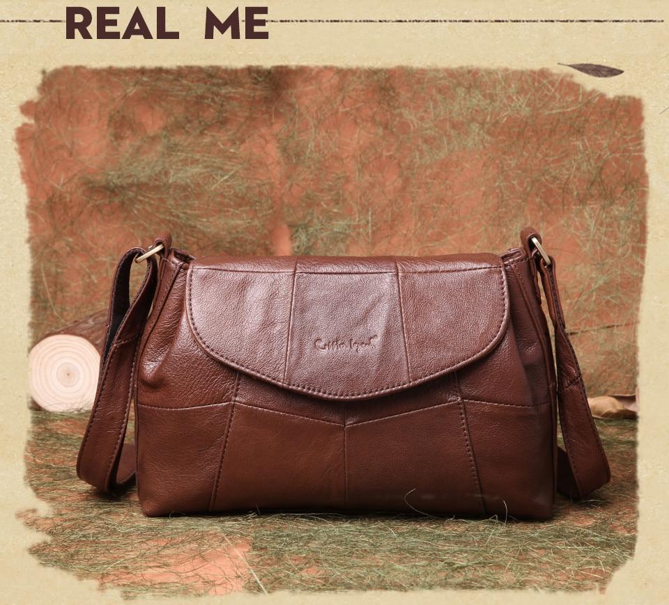 bolsas حقائب الكتف النسائية جلد طبيعي العلامة التجارية 9