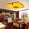 SheepskinCeiling Lichter wohnzimmer Chinesischen massivholz restaurant geschnitzte klassische platz schlafzimmer deckenleuchte ZA