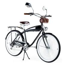 26 Inch 7 Speed Vintage Road Bike For Men & Women,  Retro Bicycle,  Bicicleta, bisiklet