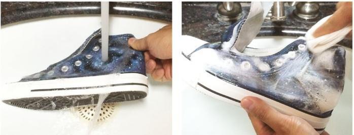 Wen Original Design Mão Personalizado Pintado Sapatos
