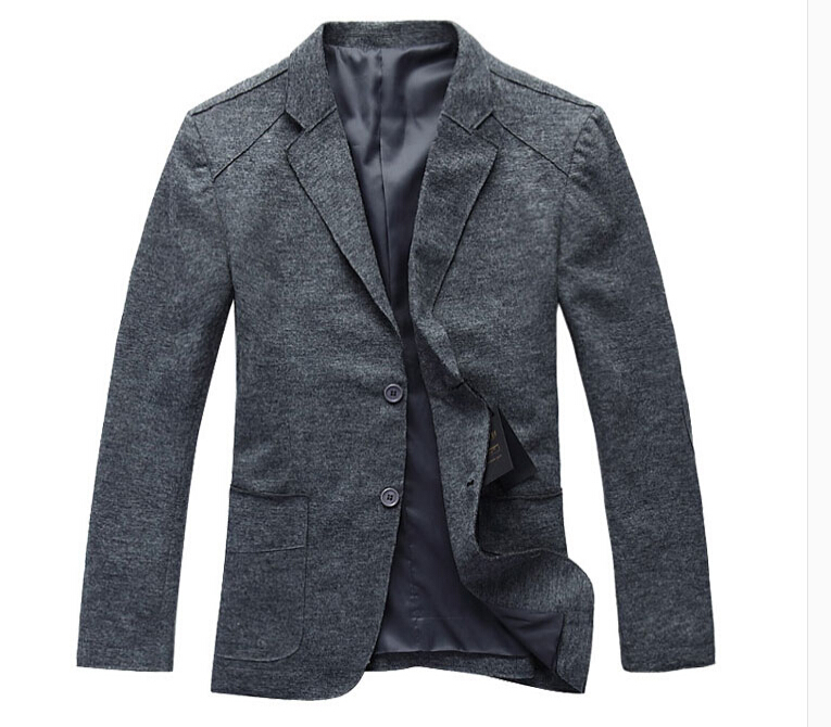 Popular Grey Wool Pea Coat-Buy Cheap Grey Wool Pea Coat lots from ...