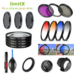 Image 1 - Filtro UV CPL ND FLD Laureato Close Up Star & Lens Hood Cappuccio Della Penna per Nikon CoolPix B700 P610 P600 p530 P520 P510 Fotocamera Digitale